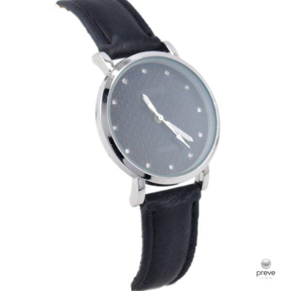 Γυναικείο Ρολόι Μαύρο & Ασημί(2)